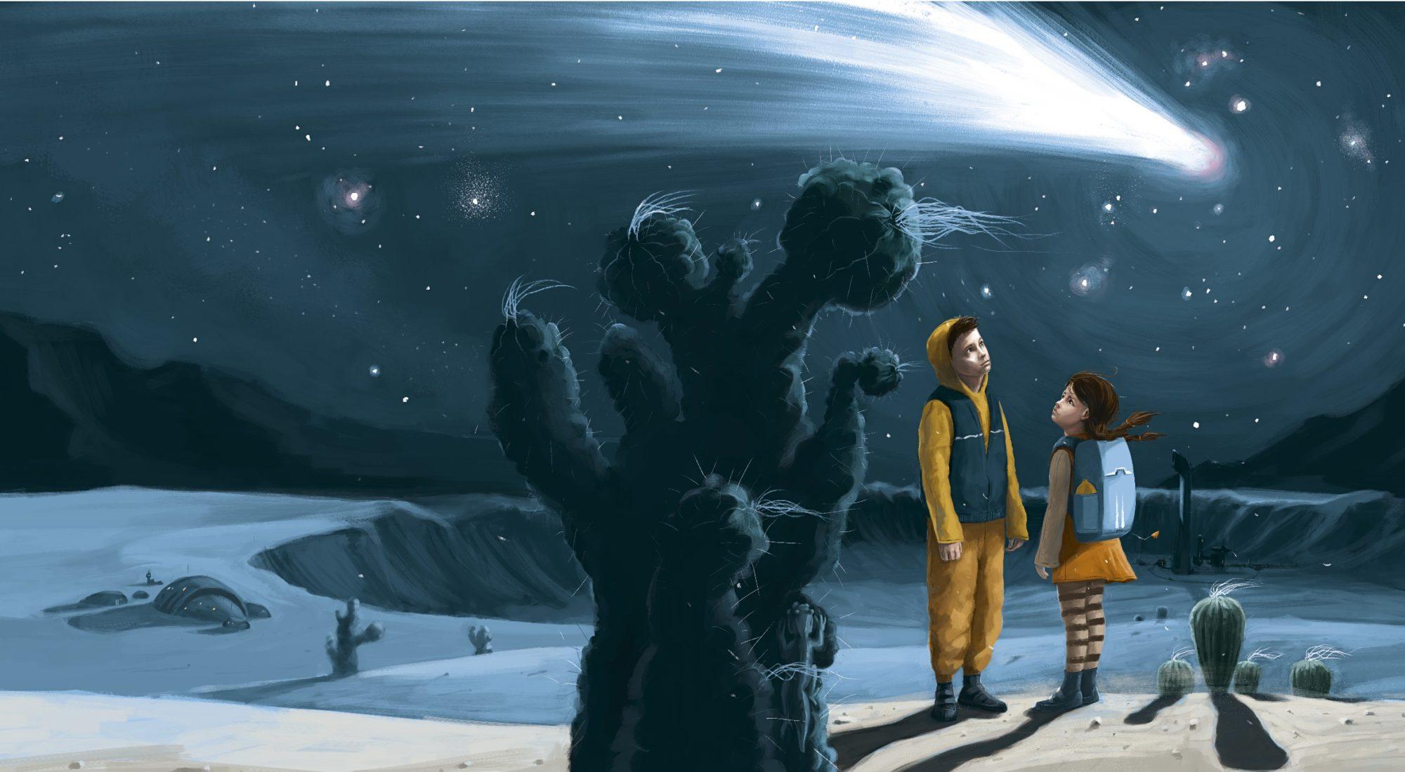 Písečníci a bludný asteroid - vydat si knihu sám